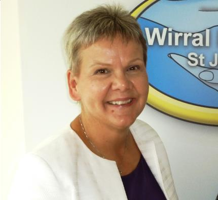 Helen Brown - Wirral Hospice Chief Executive