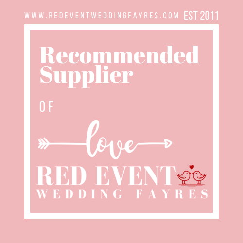 We are a recommended supplier of Love Red Event Wedding Fayres